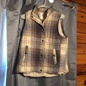 Woman's flannel vest